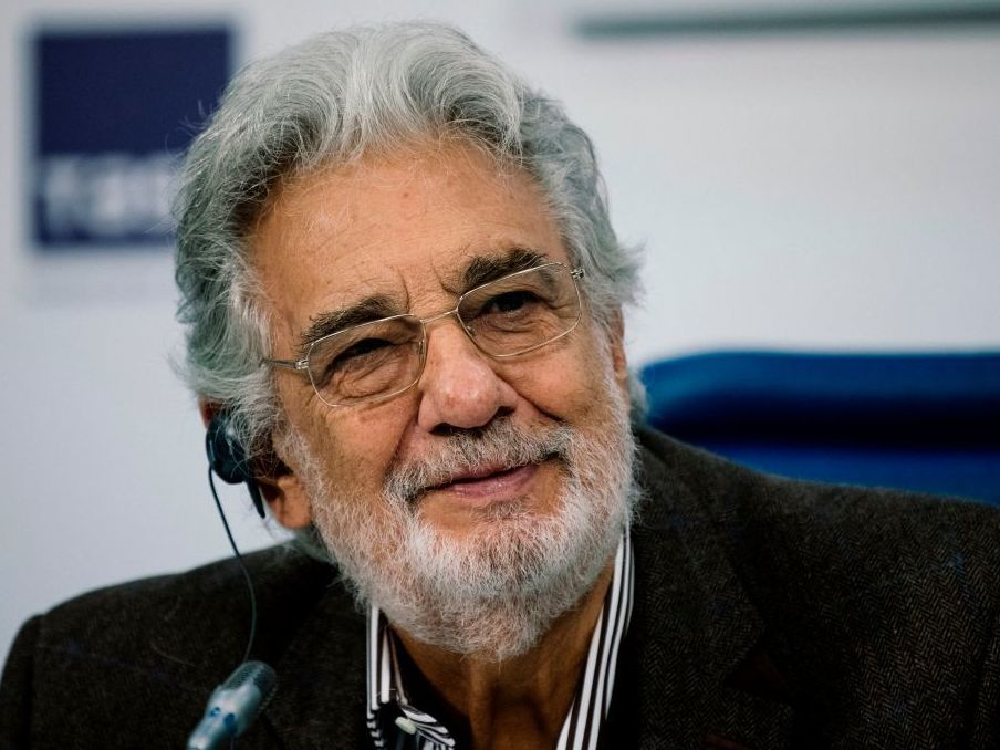 Union Says Plácido Domingo Engaged In 'Inappropriate Activity'