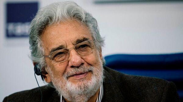 In a statement, singer Plácido Domingo said,