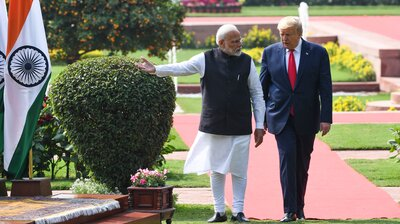 Opinion: Despite No Major Deal During Trump's Visit To India, There Was Progress
