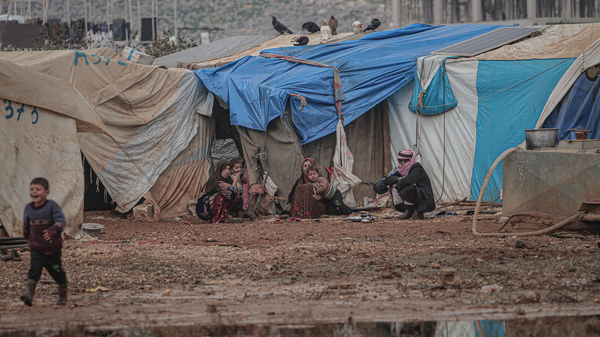 Many refugees, who have fled the fighting in Syria