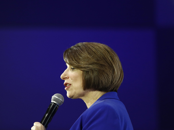 "In making her case for electability, Sen. Amy Klobuchar of Minnesota has repeatedly said she's the Democratic presidential candidate who ""brings the receipts."""