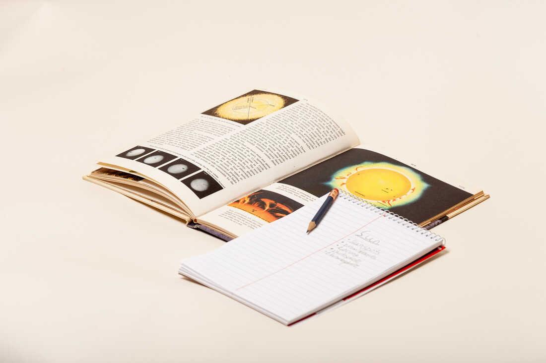 Schoolbook.
