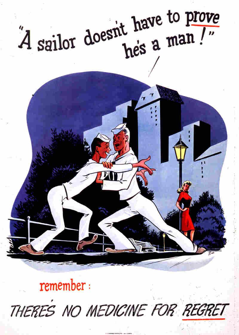 A poster circa 1942.