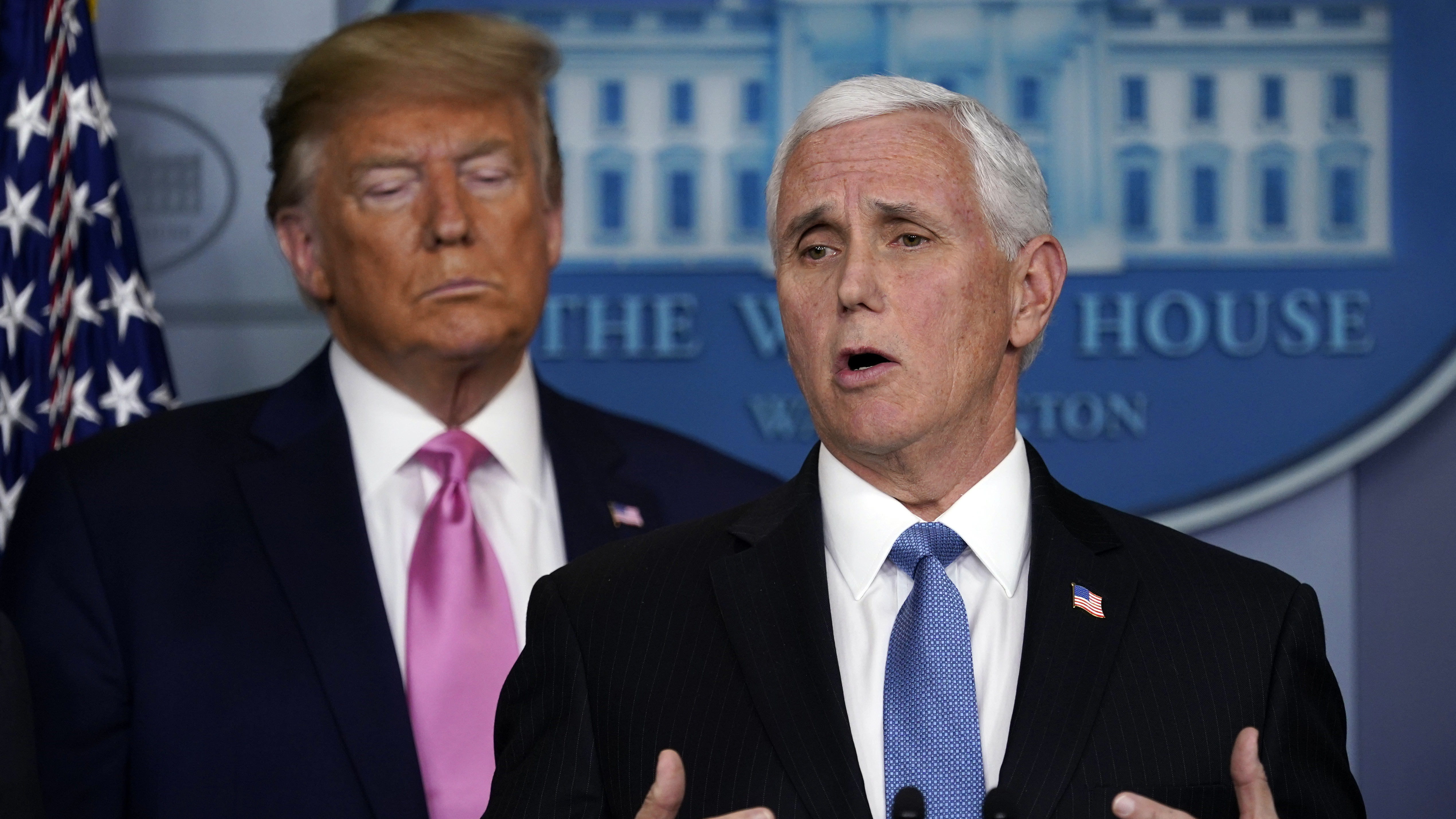 Pence says states will receive help if coronavirus spreads