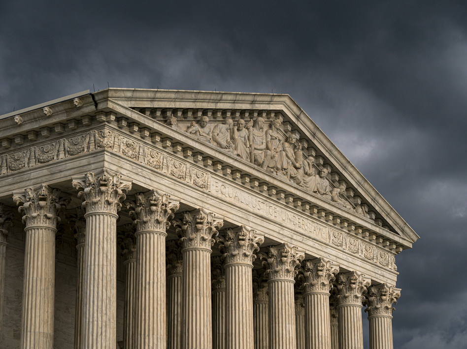The Supreme Court hears arguments Wednesday in an abortion case from Louisiana. It's the first major abortion case to come before the court since the 2018 retirement of Justice Anthony Kennedy. (J. Scott Applewhite/AP)