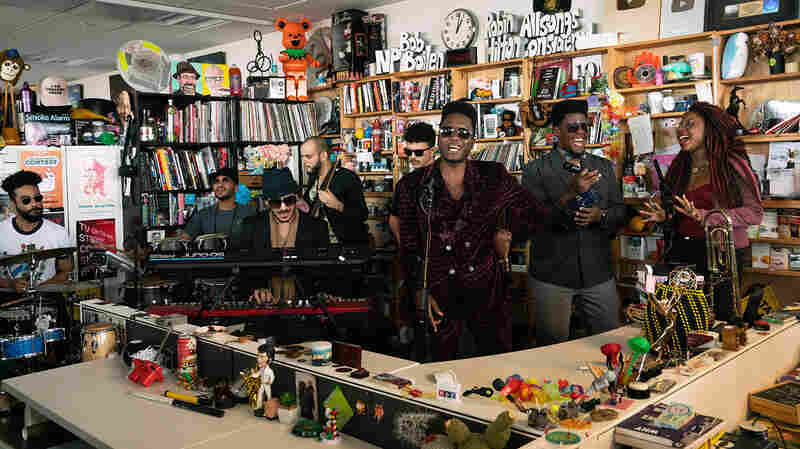 Cimafunk: Tiny Desk Concert