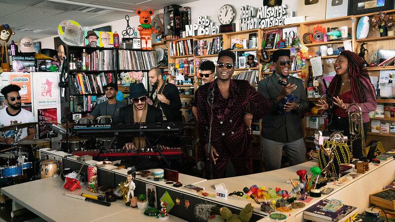 Cimafunk: Tiny Desk Concert