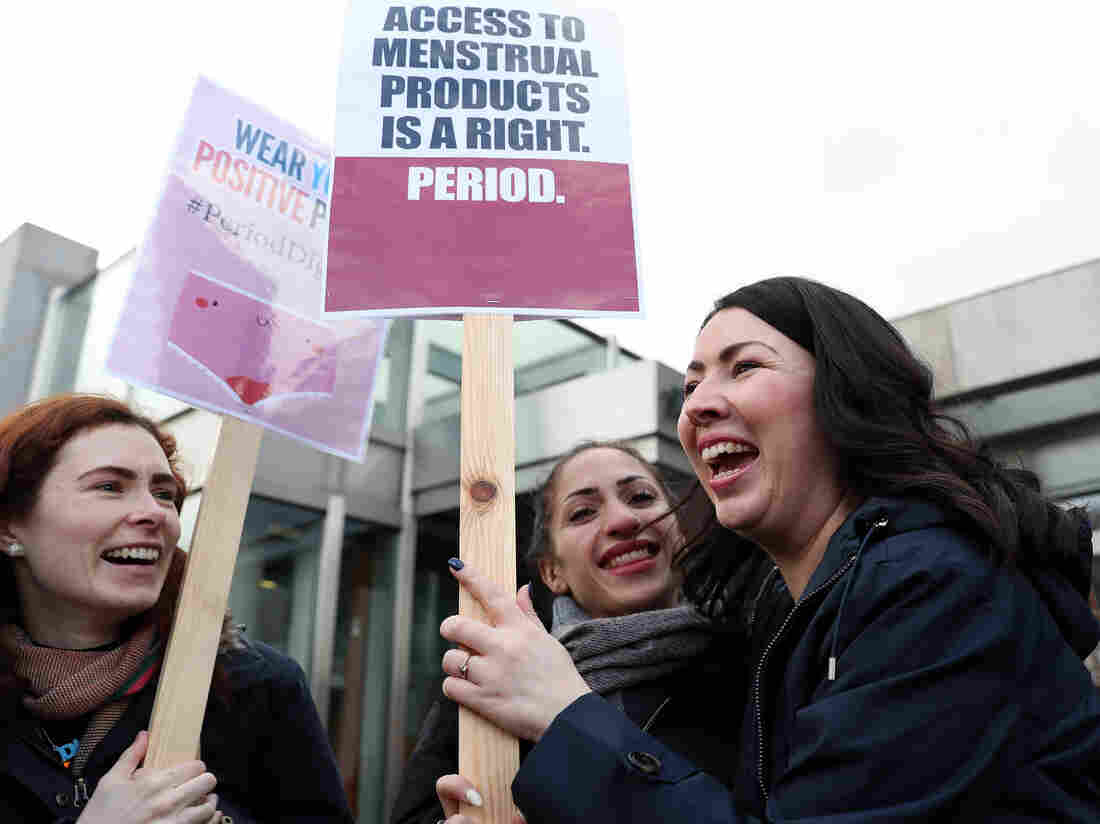 Scotland to spend N11.4bn on free sanitary products for women