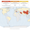 MAP: Which Countries Have CDC Travel Advisories Because Of Coronavirus
