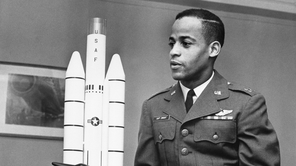 A new documentary centers on Edward Dwight, the first African American selected as a potential astronaut in 1963 for Aerospace Research Pilot School.