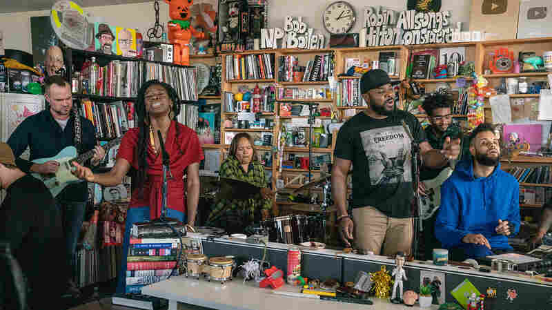 Terri Lyne Carrington + Social Science: Tiny Desk Concert