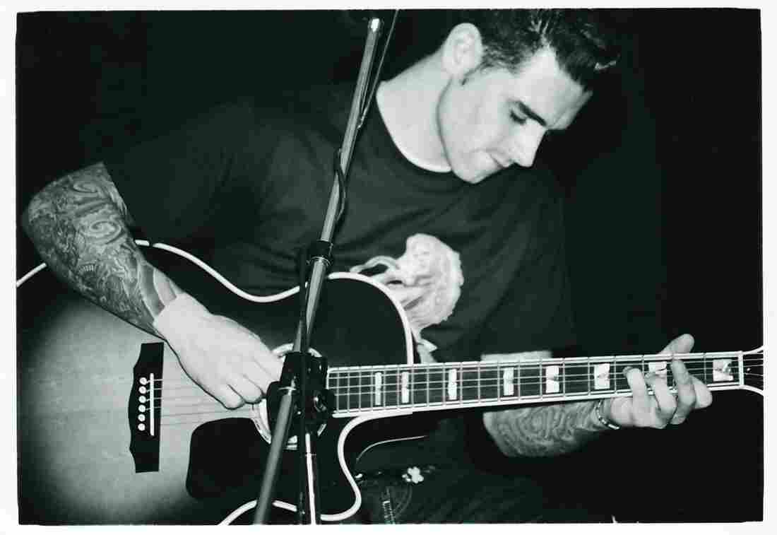 Chris Carrabba performs as Dashboard Confessional in Davie, Fla., circa 2000.