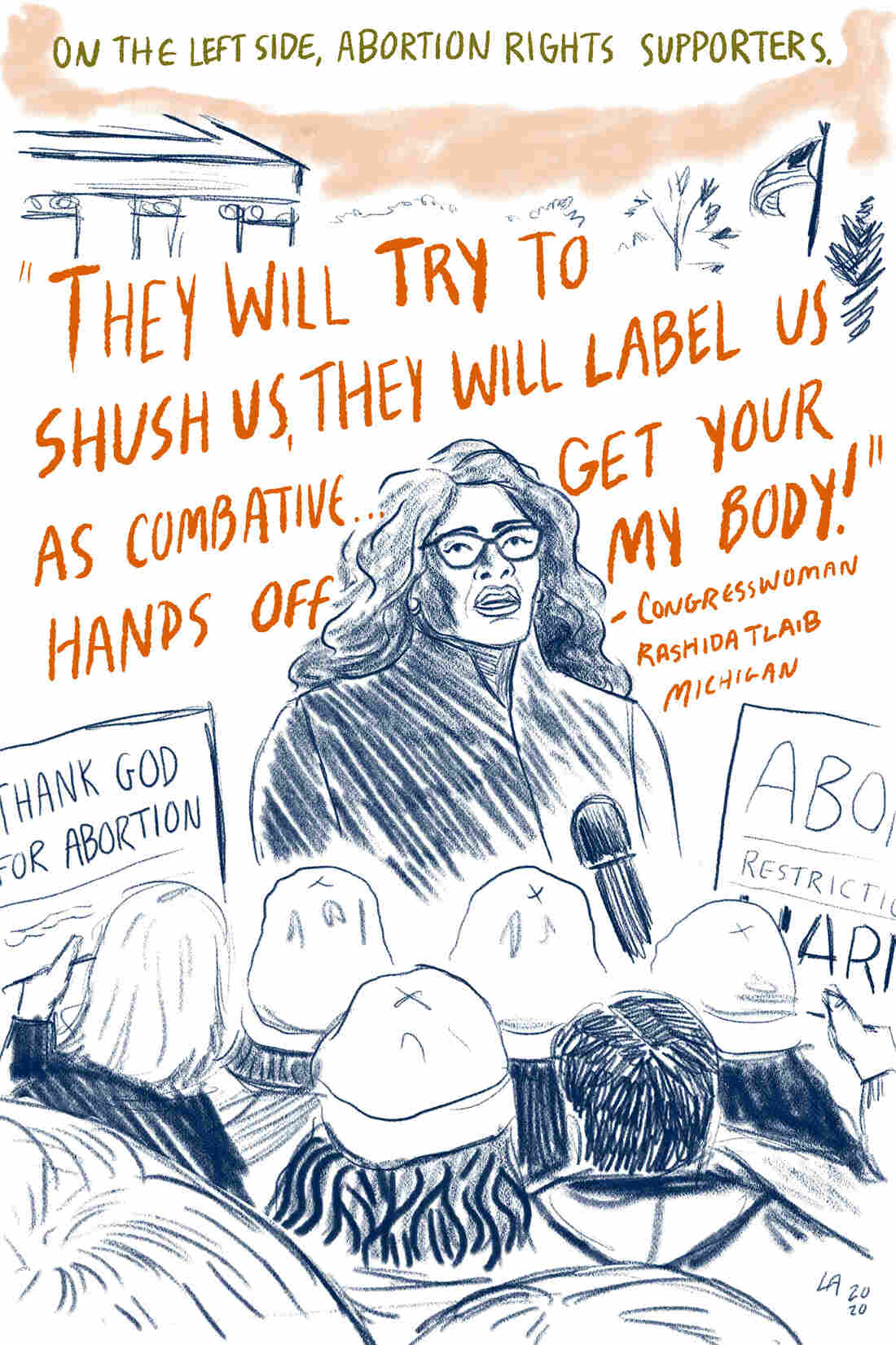 Congresswoman Tlaib from Mich.