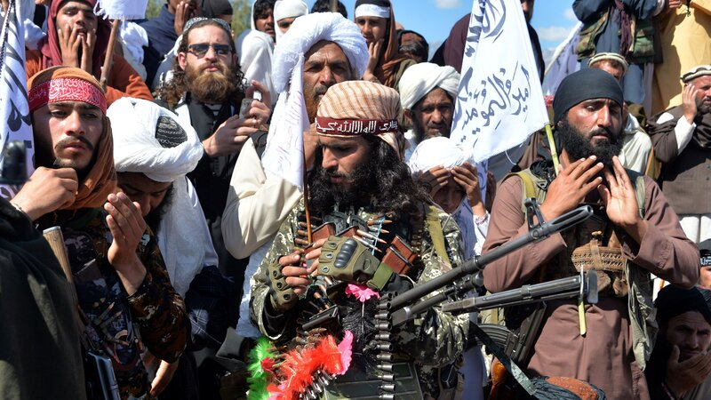While Taliban Fight On, U.S. Tries Keeping Political Deal On Track ...