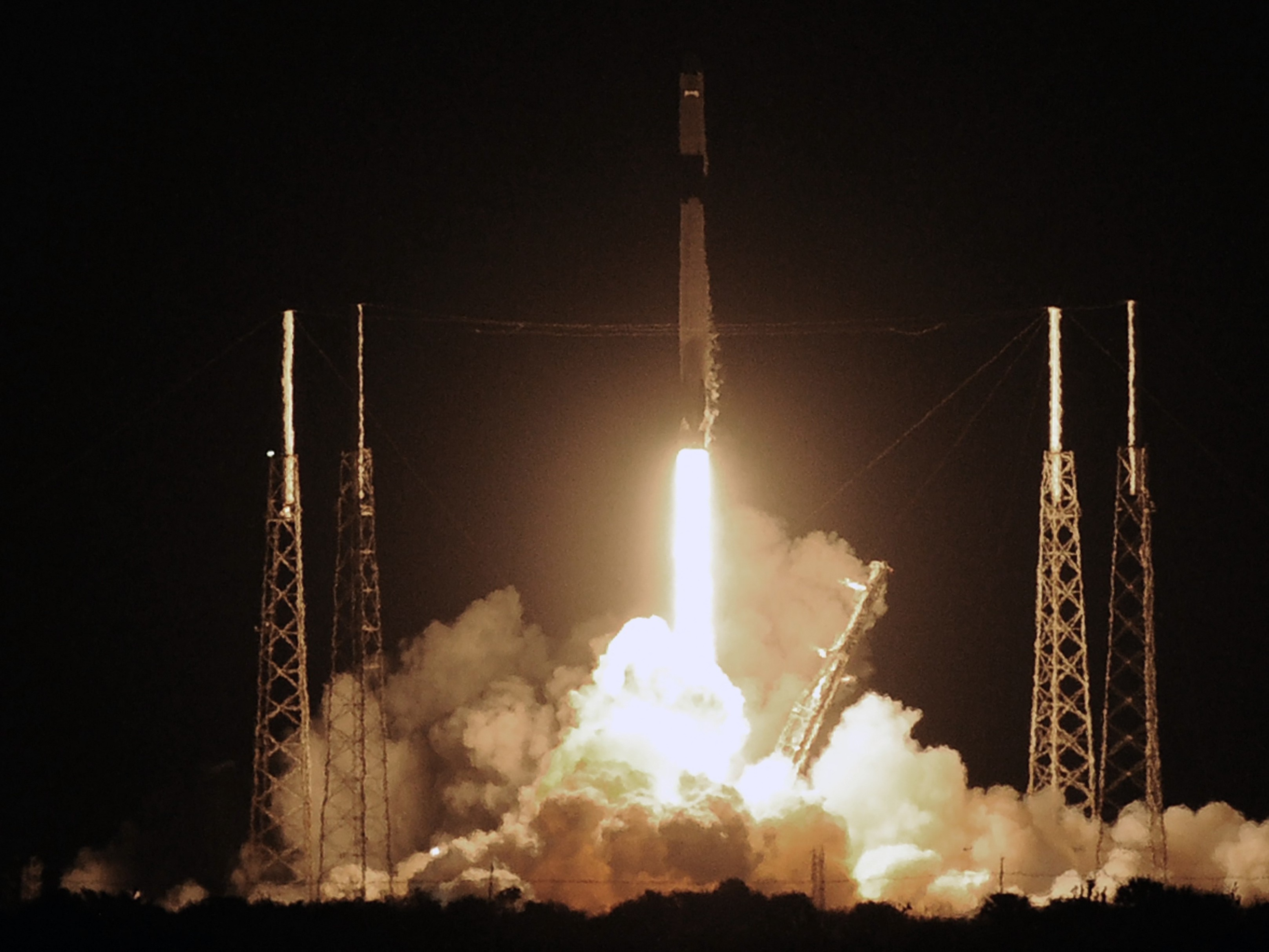 Spacex Lands 50th Rocket In 5 Years Npr