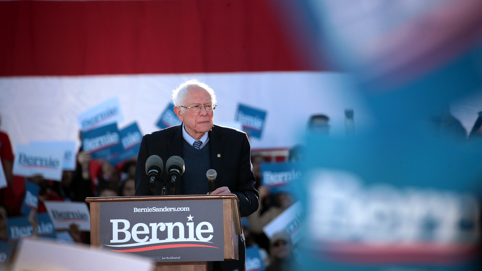 Despite two failed attempts for the Democratic nomination, independent Sen. Bernie Sanders has left a major mark on the party he never formally joined. (Scott Olson/Getty Images)