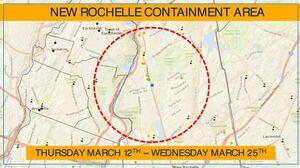 Coronavirus: New York Creates 'Containment Area' Around Cluster In New Rochelle