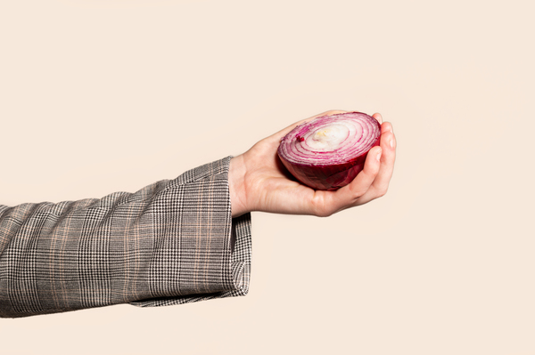 Having trouble remembering not to touch your face Try rubbing a raw onion after hand-washing