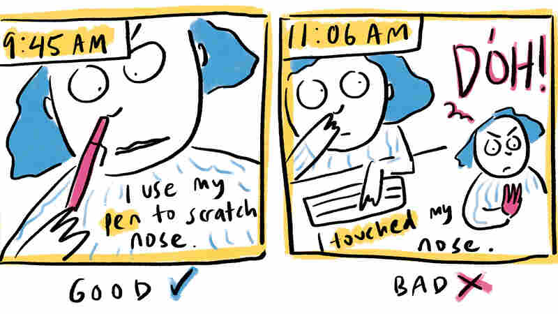 COMIC: I Spent A Day In Coronavirus Awareness Mode. Epidemiologists, How Did I Do?