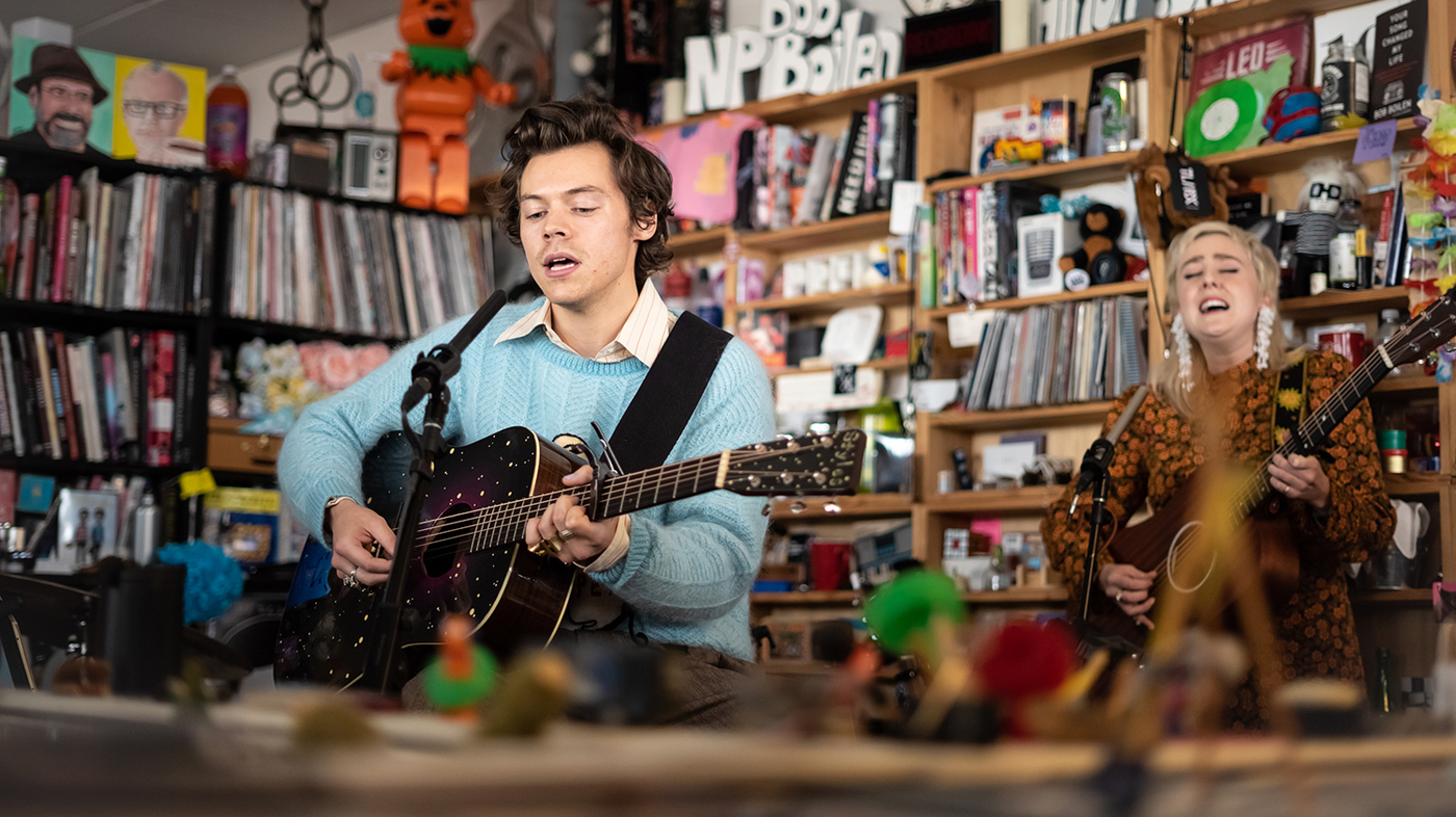Video Watch Harry Styles Play The Tiny Desk Npr