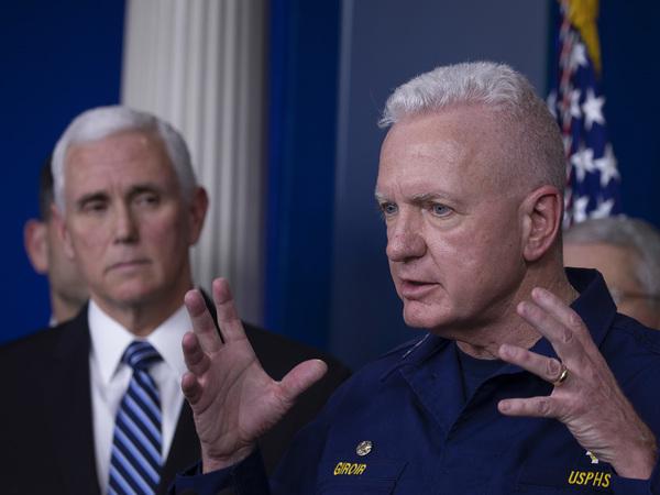 Admiral Brett Giroir describes the effort to ramp up testing.