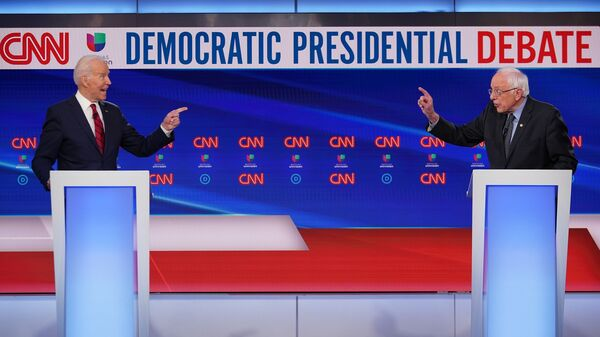 Former Vice President Joe Biden is favored to increase his delegate lead over Vermont Sen. Bernie Sanders Tuesday because the demographics of the states voting tend to favor him.