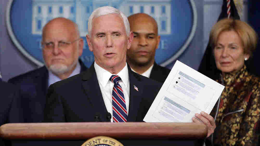 Pence Warns Coronavirus Disruptions Could Last 'Well Into July'