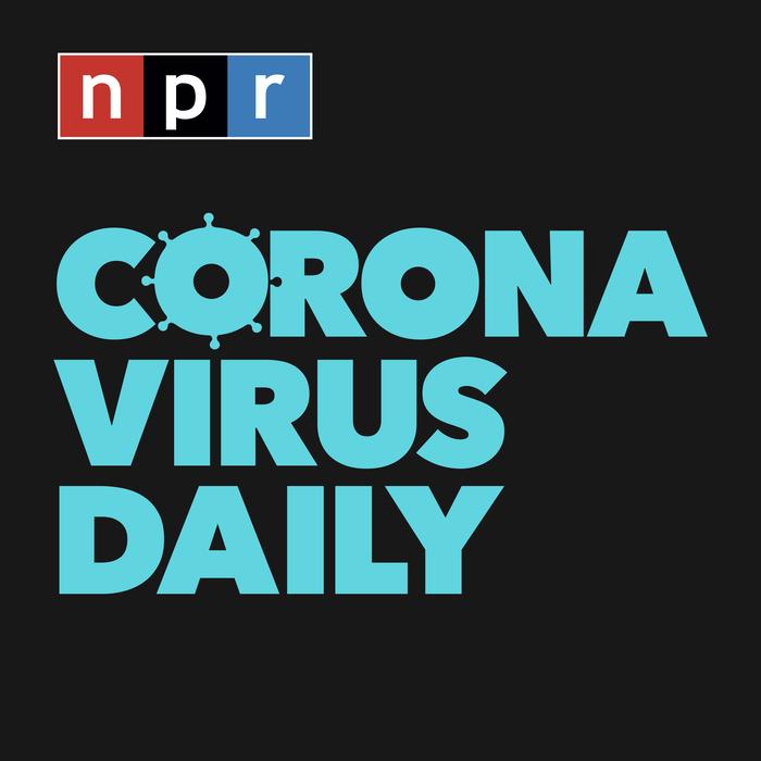 Logo for Coronavirus Daily podcast
