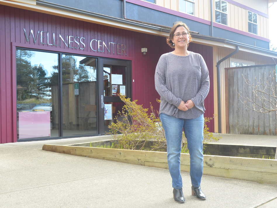 Kim Thompson, the health director of the Shoalwater Bay Tribe, says the clinic isn't ready for novel coronavirus cases yet, but they're trying to get there. (Eilis O'Neill/KUOW)