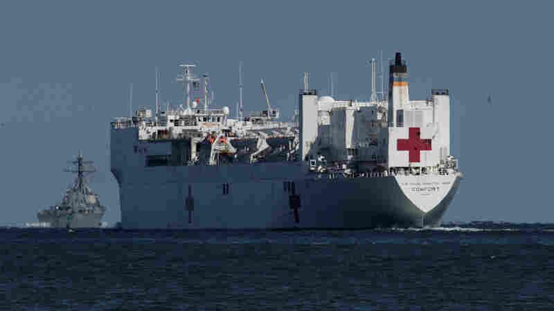 U.S. Navy Hospital Ships To Deploy To New York, West Coast