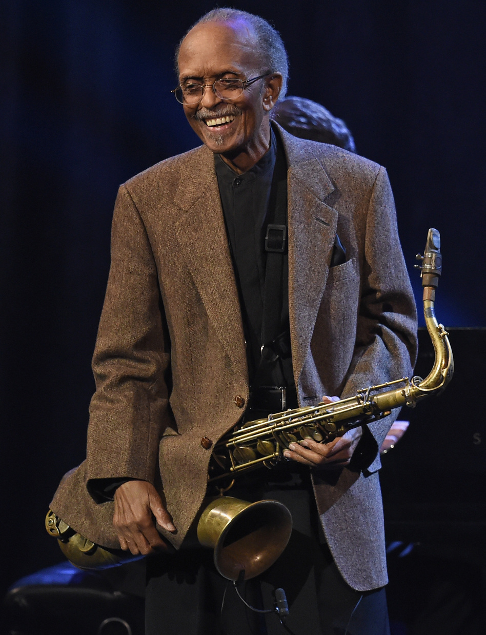 Jimmy Heath, seen here performing onstage during Jazz At Lincoln Center's 30th Anniversary Gala, died Jan. 19, 2020. (Nicholas Hunt/Getty Images for Jazz At Lincoln)