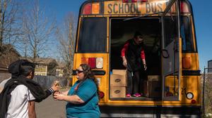 Schools Race To Feed Students Amid Coronavirus Closures