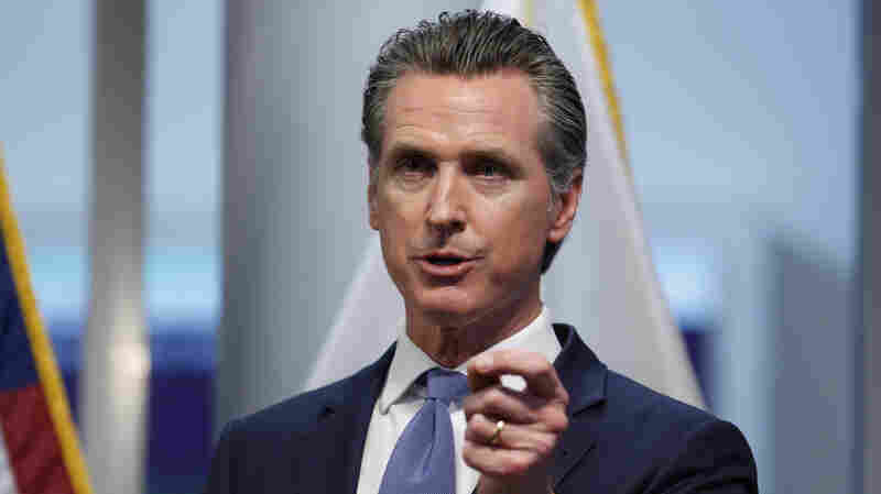 'Stay Home,' Californians Are Told By Governor As Coronavirus Spreads