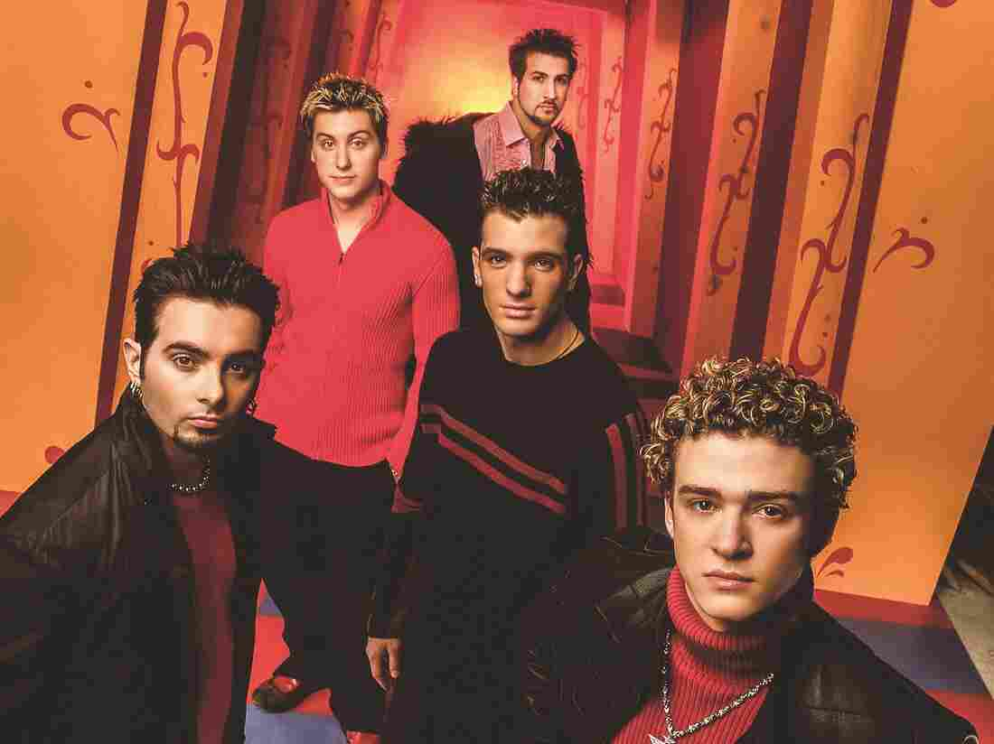 NSYNC in a promotional photo from the No Strings Attached era.