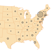 Map: Tracking The Spread Of The Coronavirus In The U.S.