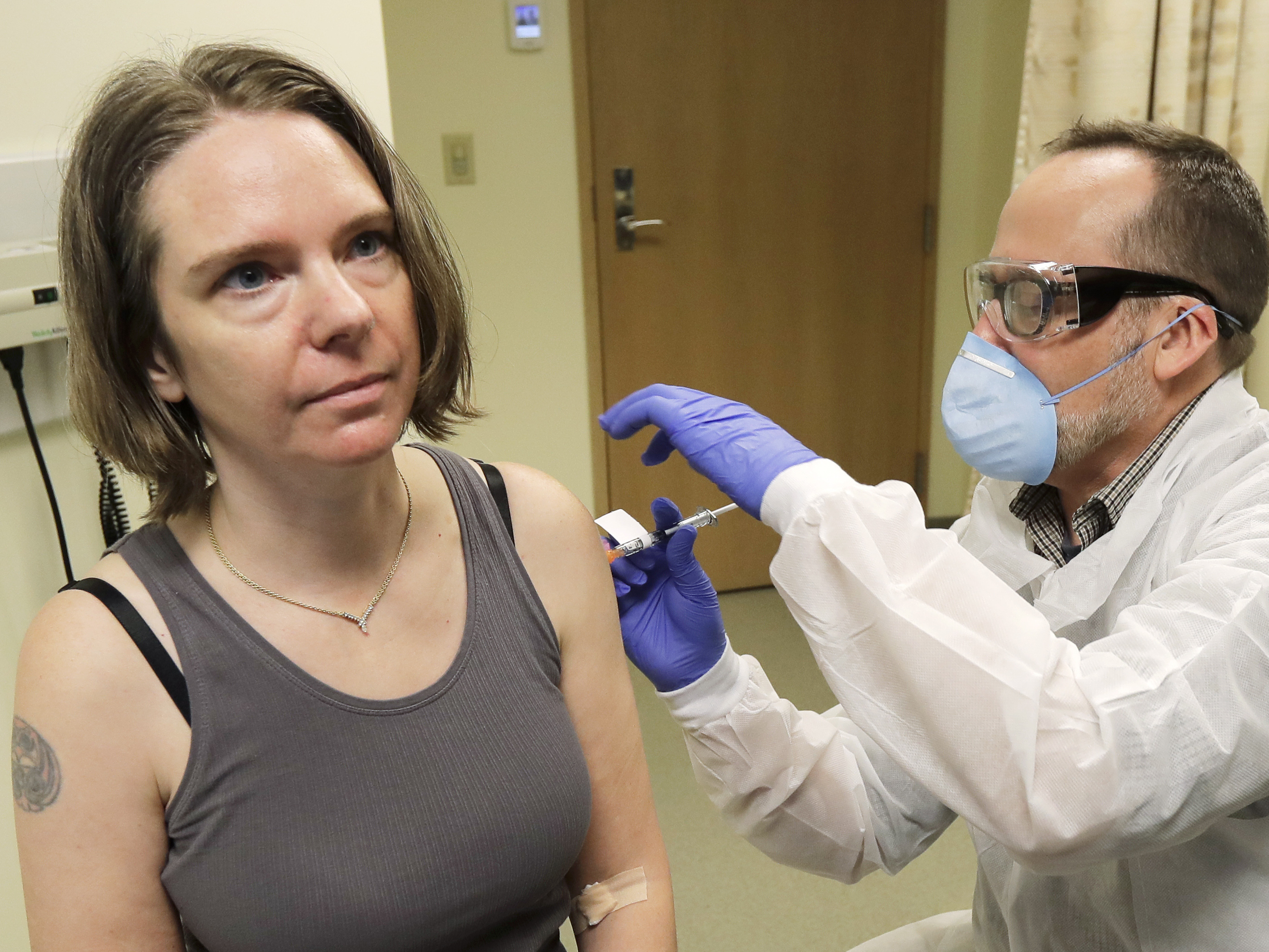 I Wanted To Do Something Says Mother Of 2 Who Is First To Test Coronavirus Vaccine Npr