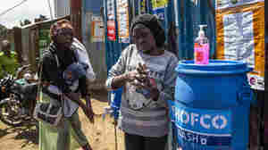 How Do You Wash Your Hands To Fend Off Coronavirus If Water Is Scarce?