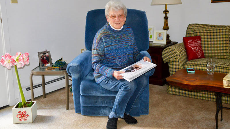 Elderly Couple Uses FaceTime To Stay Connected During Coronavirus Pandemic