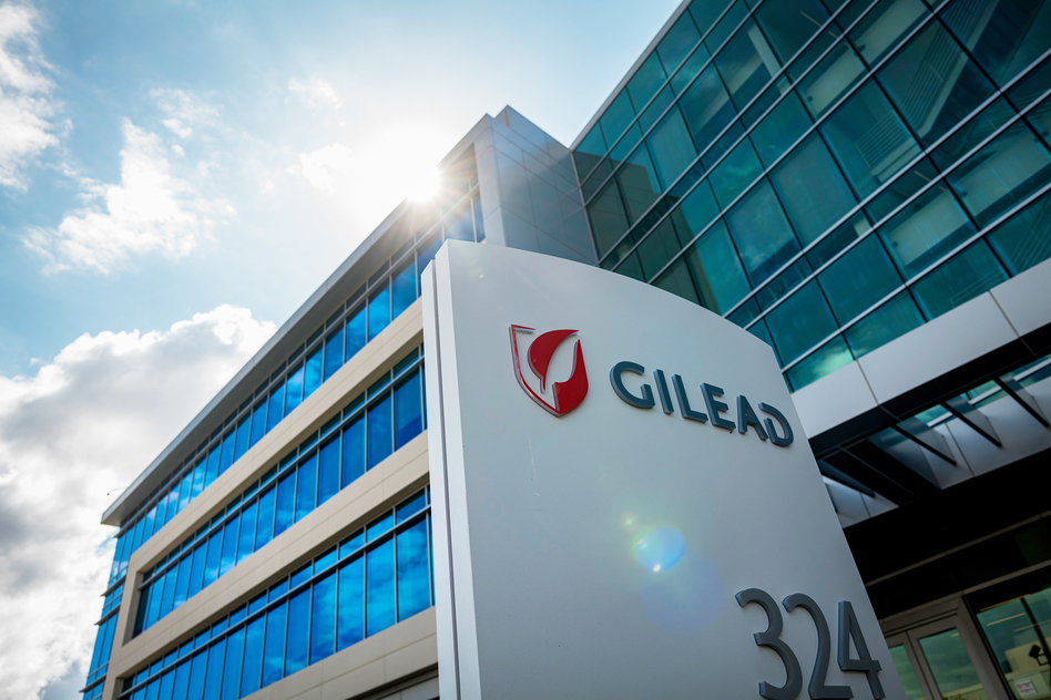 Gilead Sciences, headquartered in Foster City, Calif., makes remdesivir, one of the experimental drugs now being investigated as a possible treatment for COVID-19. (David Paul Morris/Bloomberg via Getty Images)