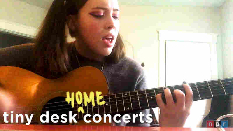 Soccer Mommy Kicks Off Tiny Desk's Home Concert Series