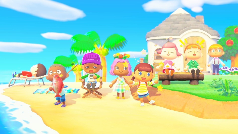<em></em>The multiplayer function in <em>Animal Crossing: New Horizons</em> means up to eight people can be on the same island. (Nintendo)