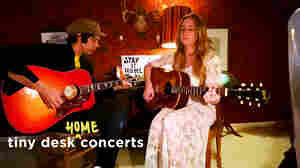 Margo Price Performs A Tiny Desk Concert From Her Attic