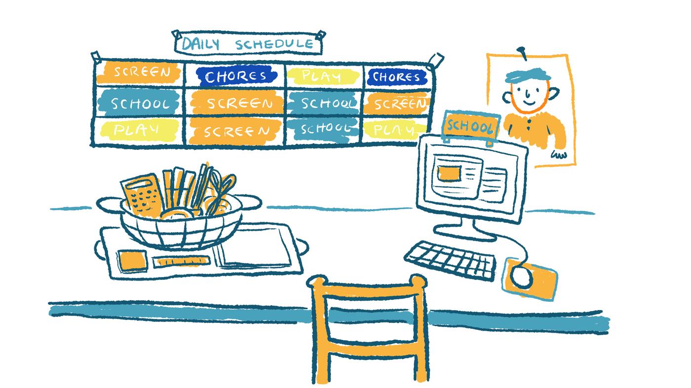 Comic How To Home School During The Coronavirus School Closures Npr