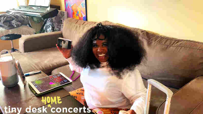 Tarriona 'Tank' Ball: Tiny Desk (Home) Concert