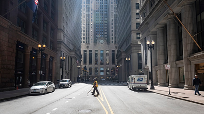 PHOTOS: This Is What Chicago Looks Like Without People Everywhere