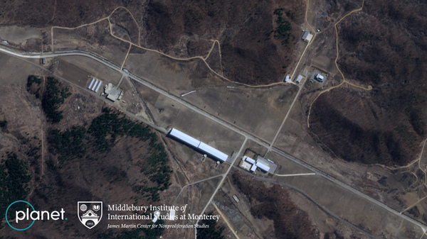 Satellite imagery shows new roads under construction at North Korea