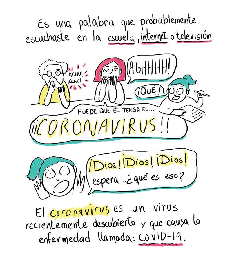 Solo Para Chicos Y Chicas Un Comic Sobre El Nuevo Coronavirus