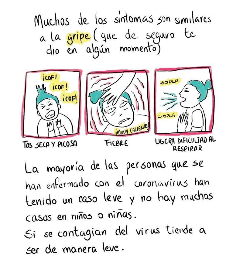 Solo Para Chicos y Chicas: Un Cómic Sobre El Nuevo Coronavirus : Goats and  Soda : NPR