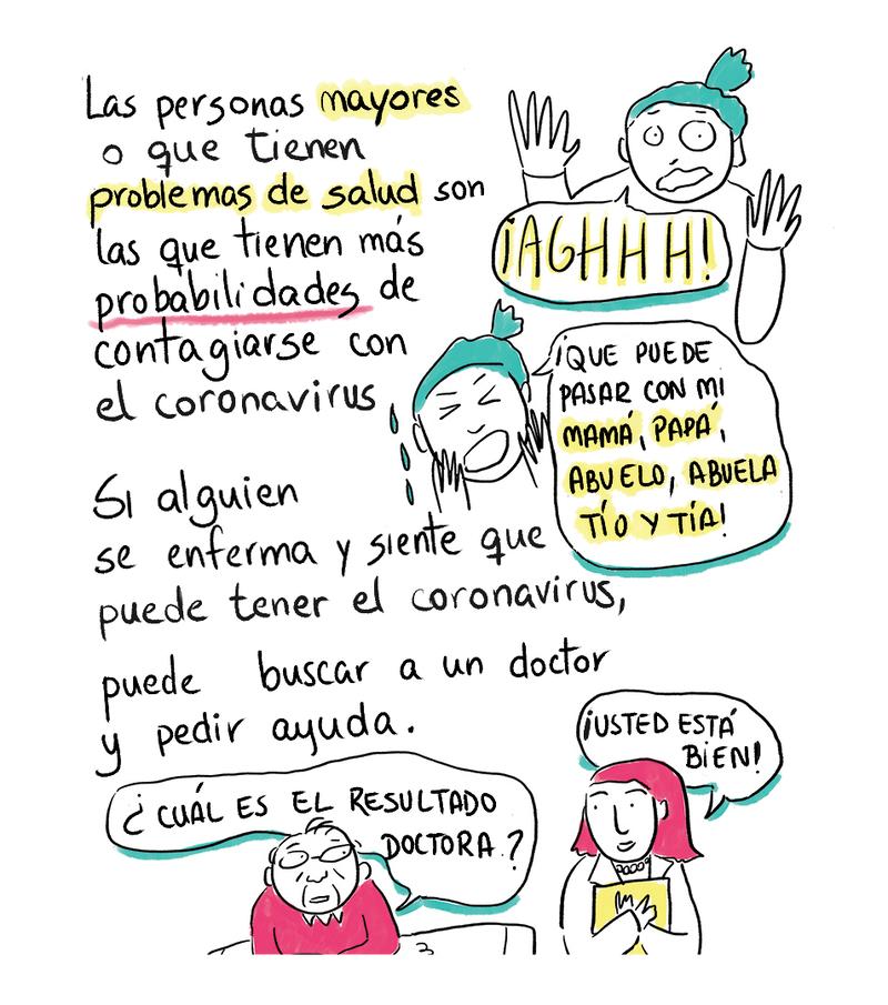Solo Para Chicos Y Chicas Un Comic Sobre El Nuevo Coronavirus Goats And Soda Npr