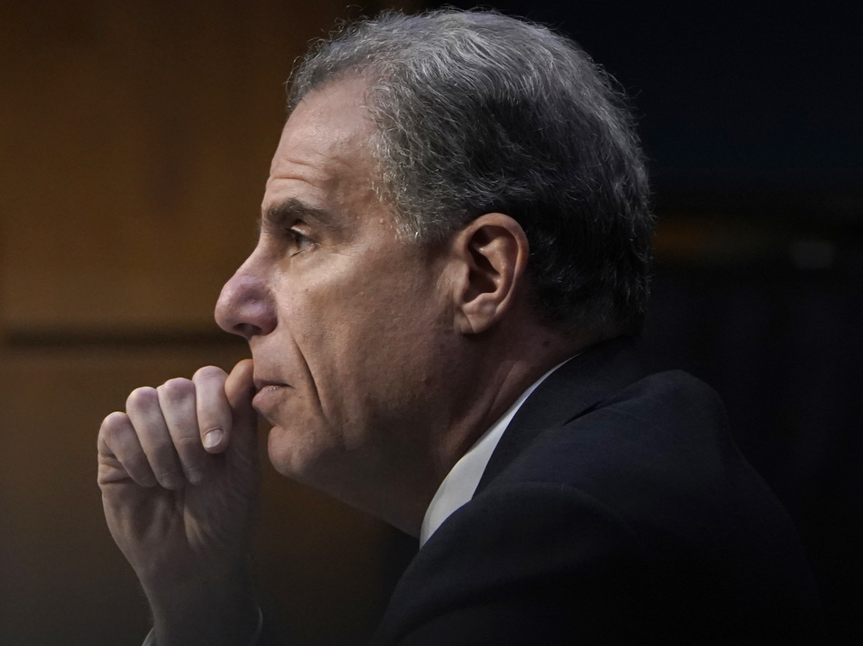 Michael Horowitz, inspector general for the Justice Department, testified before the Senate Judiciary Committee. His new report has embarrassed the FBI again. (Win McNamee/Getty Images)